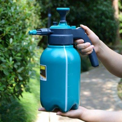 2L氣壓澆花噴壺18新款高壓器養花壓力噴水壺灑水壺園藝壺