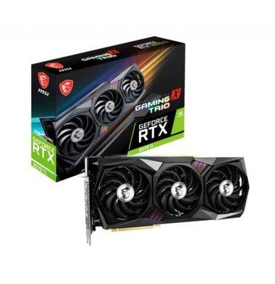 鎖算力 朋友託售 請先洽詢庫存 微星 GeForce RTX3070Ti GAMING X TRIO 8G 顯示卡