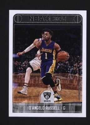 2017-18 Hoops #107 D'Angelo Russell   籃網隊