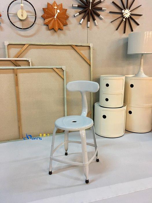 【挑椅子】【促銷品限門市自取】Loft 工業風 餐椅 鐵椅 鯨魚椅 a chair (複刻品) CX-017 白色