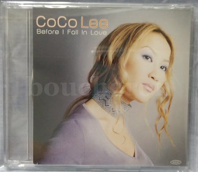 CoCo 李玟 Before I Fall In Love Do you want my love 日本宣傳單曲