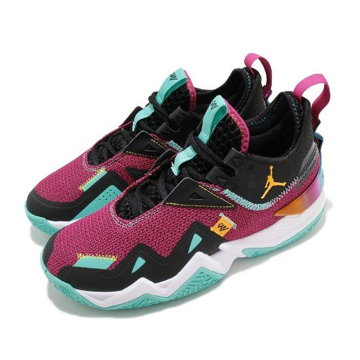 =CodE= NIKE JORDAN WESTBROOK ONE TAKE PF 籃球鞋(紅黑)CJ0781-601 男