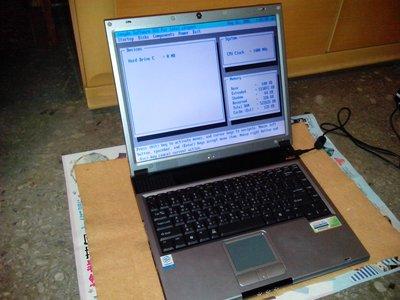 捷元Hanbody1000筆記型電腦