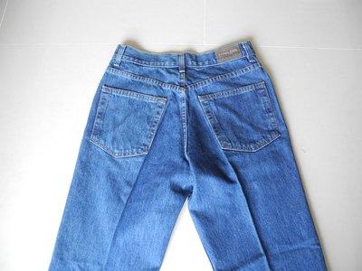 KIRKLAND藍色修身直筒墨西哥牛仔褲30腰 褲長104cm 臀圍平量55cm 漂亮版挺 9.9極新下水未穿過沒有汙損