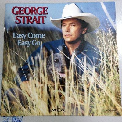 [真的好CD] George Strait 喬治史崔特 Easy Come Easy Go 美首版日壓 無IFPI 桃園市