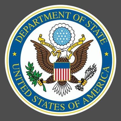 美國國務院 貼紙 United States Department of State