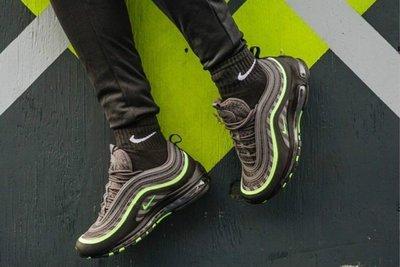 """潮品汇 歐洲限定Nike Air MAX   """"Diagonal Striping"""" 螢光子彈男潮流鞋(G)"""