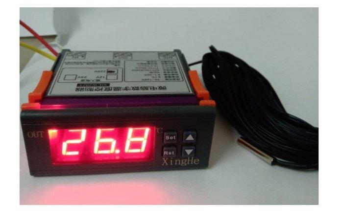 PID 溫度控制器 含1米 感溫棒 (AC110V /DC12V /DC24V 三種電壓可選)
