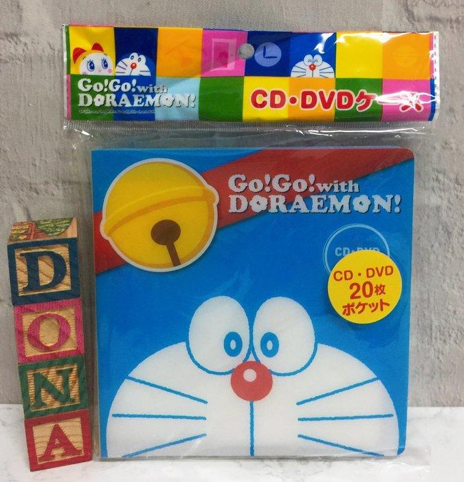 【Dona日貨】日本正版 哆啦A夢小叮噹大頭圖樣 CD收集包/收集冊 C13