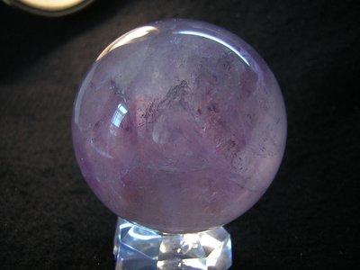 【采鑫坊】紫水晶球~紫晶球55mm《直購品》附座~