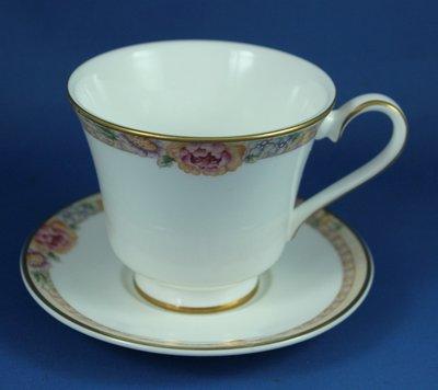 [美]英國百年名瓷ROYAL DOULTON骨瓷茶杯組DARJEELING系列,全新次級品(小盤)