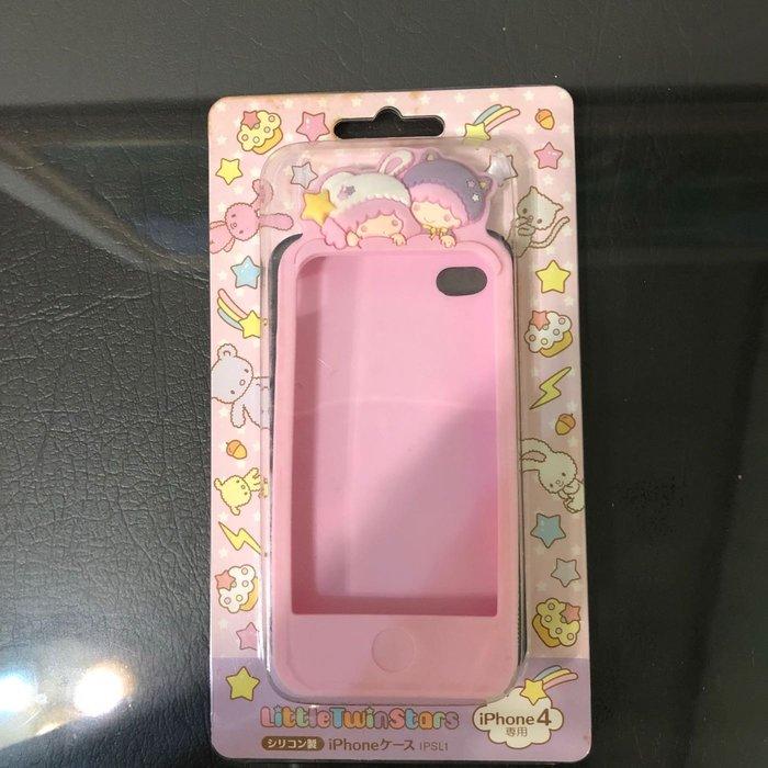 全新 正版 賠售 雙子星 kikilala Kiki lala 動物造型 iPhone 4/4s 粉紅色 手機套