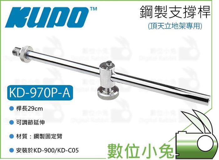 數位小兔【KUPO KD-970P-A 頂天立地架專用 29cm鋼製支撐桿】支撐臂 延伸桿 延伸架 延長桿 固定臂 支架