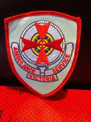 『華山堂』澳洲救護車臂章 刺繡臂章 燙貼布 徽章 布章 刺繡燙布 電繡 澳大利亞