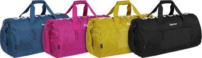 【HOMIEZ】SUPREME Tonal Duffle Bag 42代 42TH 旅行袋包 黑色 桃紅
