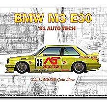 預訂全新版Nu Nu Models BMW M3 E30 '91 Auto Tech/Beemax/Hasegawa/Tamiya/Fujimi/Revell
