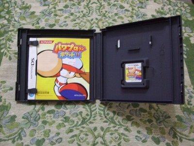 『懷舊電玩食堂』《正日本原版、有盒書》【NDS】 實體拍攝 實況野球攜帶版 11 實況棒球攜帶版11