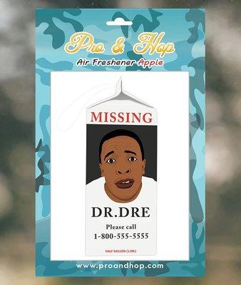 [Y A V] 美國進口 Pro N Hop 授權經銷 Dr Dre Missing  香氛片 芳香吊卡吊飾 香片