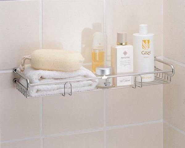 ☆成志金屬☆s-706-18不銹鋼浴室毛巾、瓶罐置物架, 、收納架