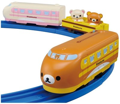 輕鬆小熊 鬆弛熊火車 Disney Dream Railway Rilakkuma Toy Train Takara Tomy