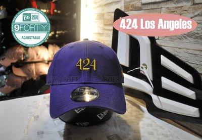 New Era Area Code 424 Los Angeles 9Forty Purple 洛杉磯區域碼紫色彎帽