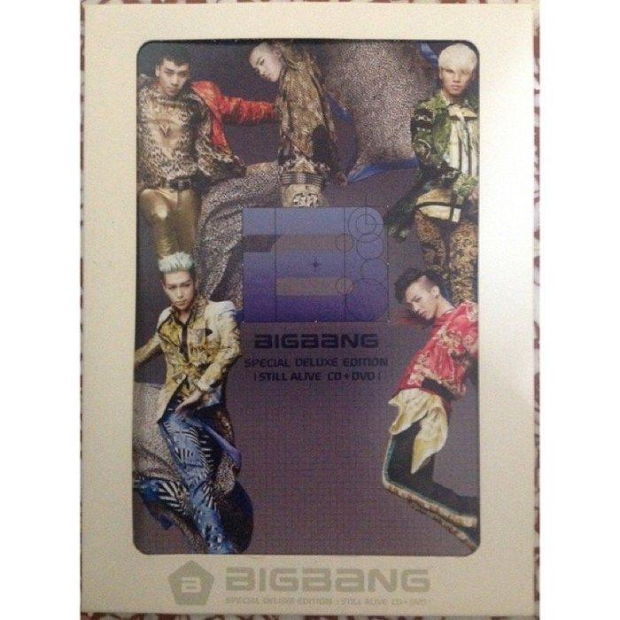 《絕版全新》BIGBANG Still Alive 預購禮 桌曆