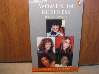 【愛悅二手書坊 19-15】PENGUIN READERS WOMEN IN BUSINESS DAVID SVANS