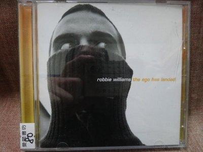 【愛悅二手書坊 CD-4】Robbie williams the ego has landed 羅比威廉斯