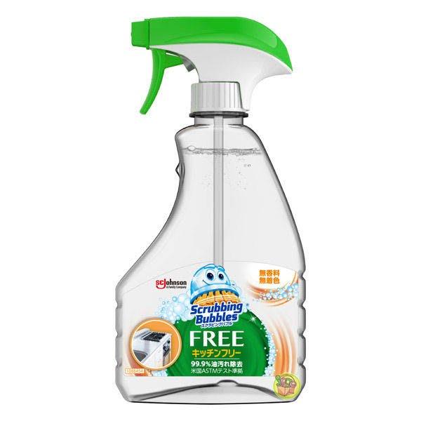 【JPGO】日本進口 Johnson 莊臣 廚房去油汙清潔劑 清潔噴霧 350ml~無香料 #618