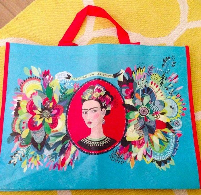 法國Fragonard法格那風格生活手繪風品牌購物袋 共2款 可加購