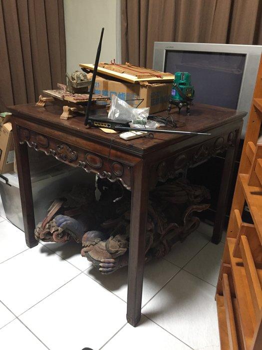 [清代]大紅酸枝方桌