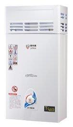 亞豐廚具(老店)  喜特麗(12L大廈專用加強防風型熱水器)、正港台灣製造!JT-5001