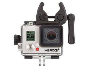 【eWhat億華】GOPRO 原廠桿型專用固定座 ASGUM-001 HERO5 HERO7 HERO8 現貨 【1】