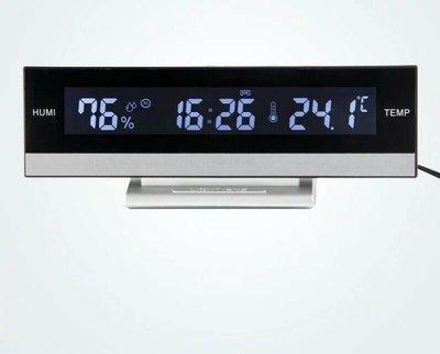 白光LED大字體鬧鐘 萬年曆電子  帶溫度/濕度 顯示AAA*3   電源 新台幣:588元