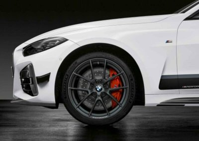 ✽顯閣商行✽BMW德國原廠 M Performance G20/G21 898M 19吋 輕量化鋁圈含胎組 M340i