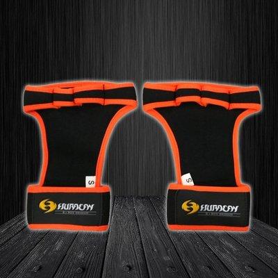 Huracan 颶風CrossFIT 專業健身手套_亮橘