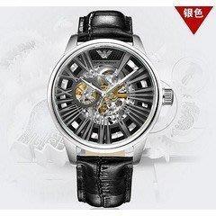Armani亞曼尼AR男士腕錶潮流時尚三眼計時多功能防水日曆機械手錶男AR4629 阿瑪尼 手錶 男錶