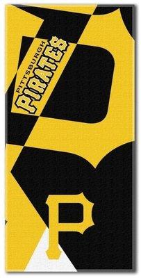 [現貨]美國大聯盟MLB沙灘巾 超大浴巾 匹茲堡海盜Pittsburgh Pirates職業棒球聯盟 游泳運動健身打球