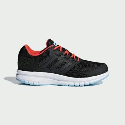 Osneakers👟現貨 免運 Adidas Galaxy 4 K慢跑鞋 童鞋 黑橘 B75656