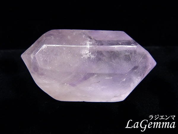 【寶峻水晶】天然雙尖紫水晶柱MS-737/98g薰衣草紫,平衡連結能量~開智慧能量風水石