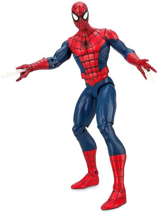 預購 美國帶回 Marvel 漫威英雄 蜘蛛人 男童 公仔 聲響玩具 說話玩具 13吋 聖誕禮