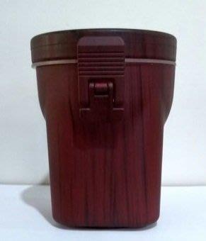 【米拉羅咖啡】巨翰 SPOKE 木紋壓克力密封罐 40OZ 調味料罐 (紅木色)