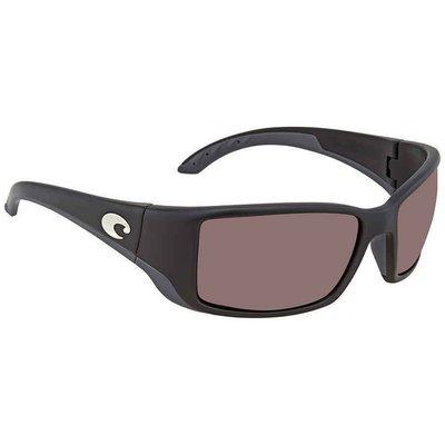 Costa Del Mar Blackfin Copper Silver Mirror 580P Rectangular  BL 11男太陽眼鏡