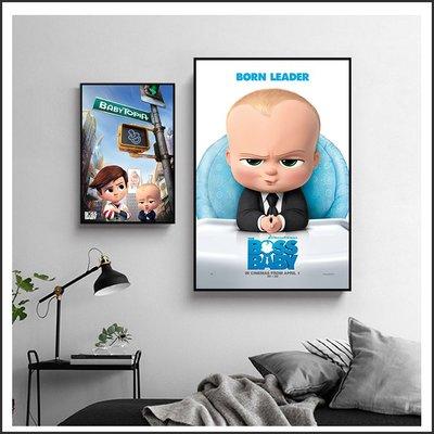日本製畫布 電影海報 寶貝老闆 The Boss Baby 掛畫 嵌框畫 @Movie PoP 賣場多款海報~