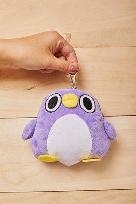 【UNIPRO】懶得鳥你 胖企鵝 拉扣 伸縮 票卡套 零錢包 萬用包 懶得鳥你 Mentori めんトリ 正版授權