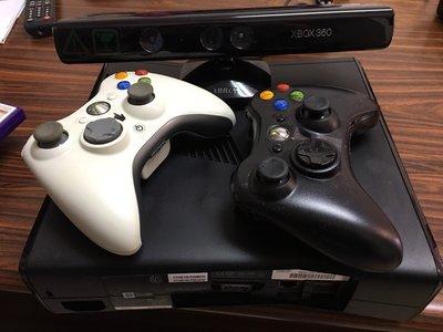 Xbox 360 4GB主機+Kinect 感應器+《Kinect Adventures》遊戲同捆組+3片遊戲