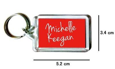 〈可來圖訂做-鑰匙圈〉Michelle Keegan 蜜雪兒基岡 壓克力雙面鑰匙圈 (可當吊飾)