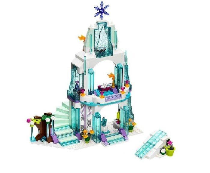 現貨【LEGO 樂高】全新正品 益智玩具 積木/公主系列:艾莎的閃亮冰雪城堡41062 冰雪奇緣 單售: 閃亮冰雪城堡