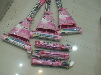 (拖把本體缺貨中)日本123超好用魔術膠棉拖把X1+專用之備用膠棉6個-特惠價=超優送到家-吸水力超強