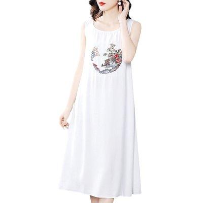 創意 大氣 高端女裝款春夏季連衣裙吊帶...